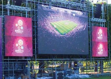 High Resolution Outdoor Full Color LED Display P5.95 IP65 / IP54 Easy Installation